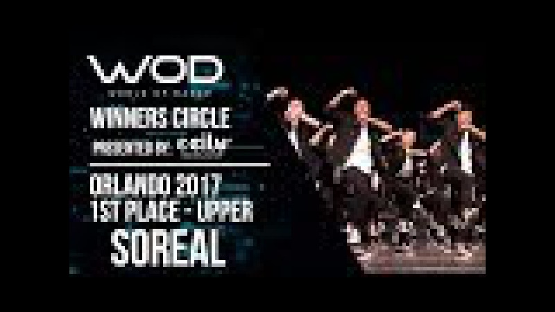 Soreal | 1st Place | World of Dance Orlando 2017 | Winners Circle | WODFL17