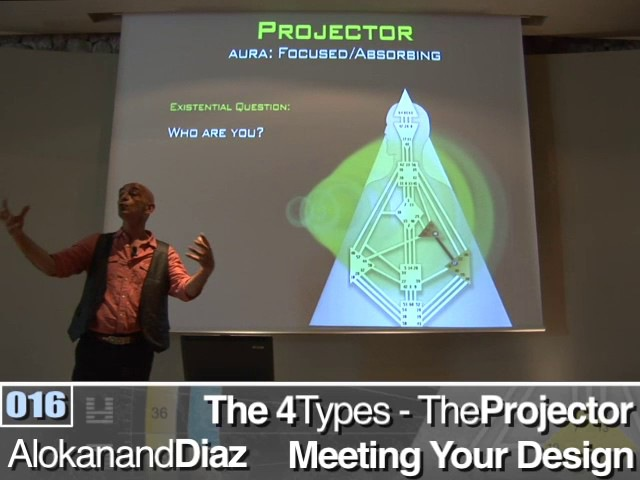 Meeting Your Design The 4 Types - Projector - Human Design System - Alokanand Díaz