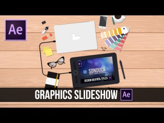 After Effects Tutorial: 2D Motion Graphics Slideshow