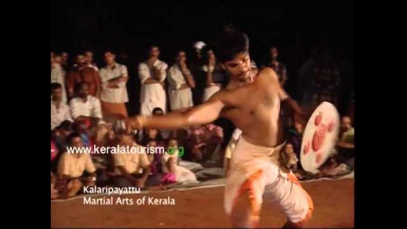 Vadipayattu or Fighting with sticks in Kalaripayattu