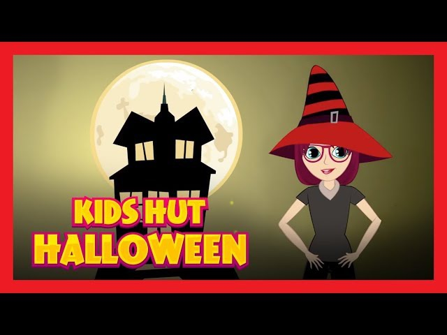 KIDS HUT HALLOWEEN PARTY RHYMES - HAPPY HALLOWEEN || HALLOWEEN FOR KIDS - HALLOWEEN SONGS