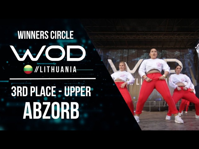 ABZORB   3rd Place Upper   Winner Circle   World of Dance Lithuania   WODLT17
