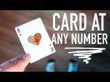 Card at ANY NUMBER! - card magic tutorial
