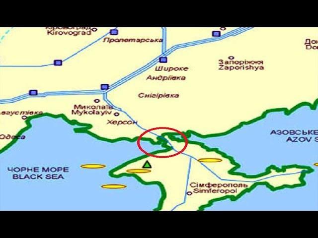 Газовую трубу из Крыма отрезают а уголь так и не горит