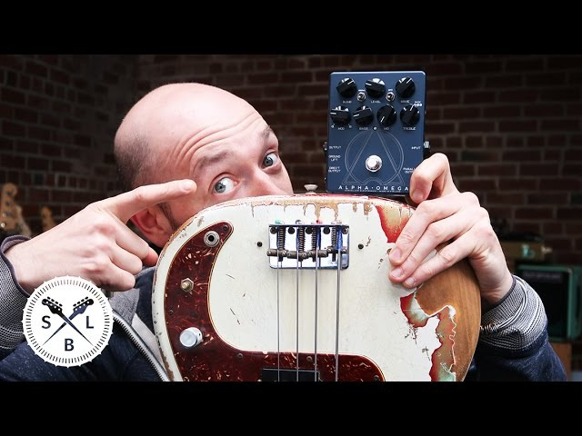 The coolest distortion pedal for bass EVER!… Darkglass Alpha Omega (unboxing!)