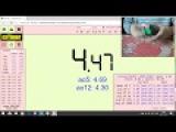 2x2  avg of 5 4.24