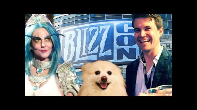 Behind the Scenes: BlizzCon 2017 (W/Trump, Trolden More)