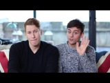 Dustin Lance Black &amp Tom Daley Send A Message From London!