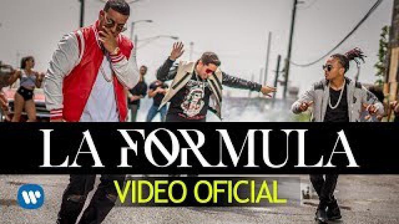 De La Ghetto, Daddy Yankee, Ozuna Chris Jeday - La Formula Video Oficial
