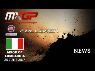 NEWS Highlights - Fiat Professional Fullback MXGP of Lombardia 2017 mix ENG