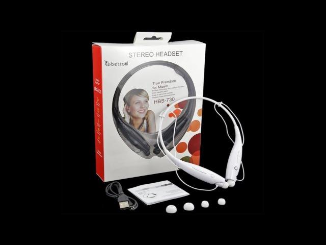 Беспроводные Bluetooth наушники HBS-730 с вибрацией - худшие наушники которые я видел