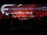 Ginger Mad в Opera Concert Club 11.02.2017