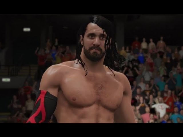 WWE 2K17 Elimination Tornado Tag | Seth Rollins and Randy Orton vs. The Rock and John Cena