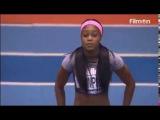 Elaine Thompson 6.98 WL Destroys the field women's 60m Birmingham Indoor Grand Prix 2017