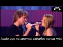 Bon Jovi - Till We Ain't Strangers Anymore ft Leann Rimes Live (letra en español)