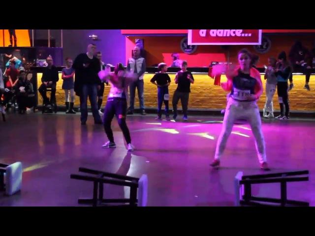 🔵🌟BlueStar Dance Studio🌟🔵 Трембач ВікаШурмакевич Віра Хіп-Хоп, Початківці (In love with a d...