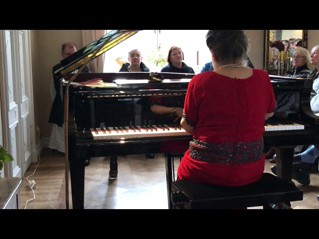 Marcella Crudeli plays F. Chopin: Ballade n.1 op.23 - Concert in Berlin