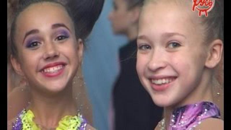 Соревнования юных гимнасток ОФСОО Русь 2016 Открытие