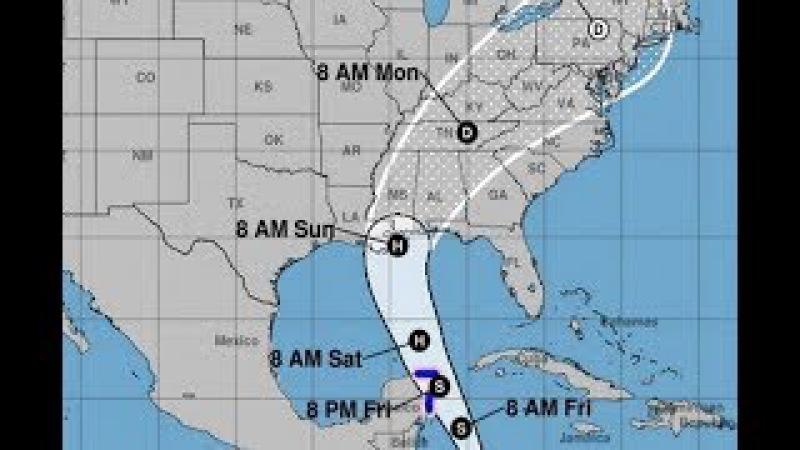 Alerta!! Alabama, Misisipi y Luisiana se veran afectados por Huracan NATE