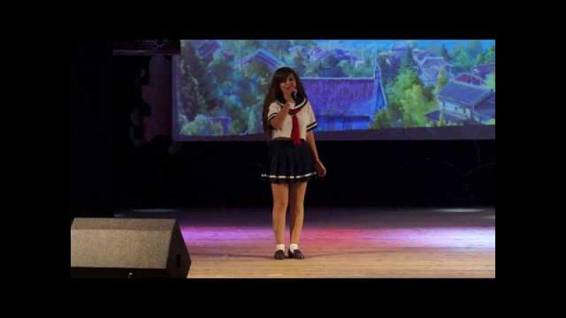 Gakko Fest 2017. Акт 3-1. Караоке. Nana4ka (г.Воронеж) - Ichiban no Takaramono (Angel Beats!)