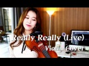 WINNER_REALLY REALLYLIVE VIOLIN COVER