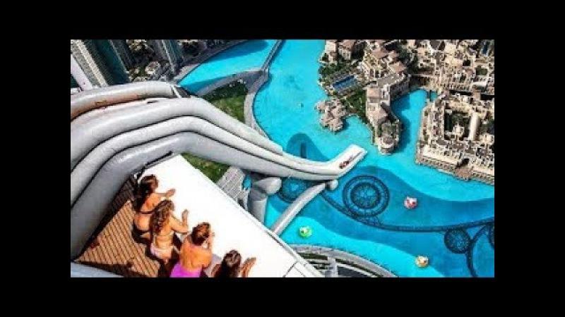 Dünyanın En Güzel ve Eğlenceli 5 Aqua Parkı - Su Kaydırağı - Yüzme Havuzu .
