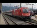 ÖBB 1216 015 am EC 81 ,,DB-ÖBB-EuroCity | Innsbruck Hbf [4k]