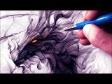 Let's Draw a SMOKE DRAGON - FANTASY ART FRIDAY