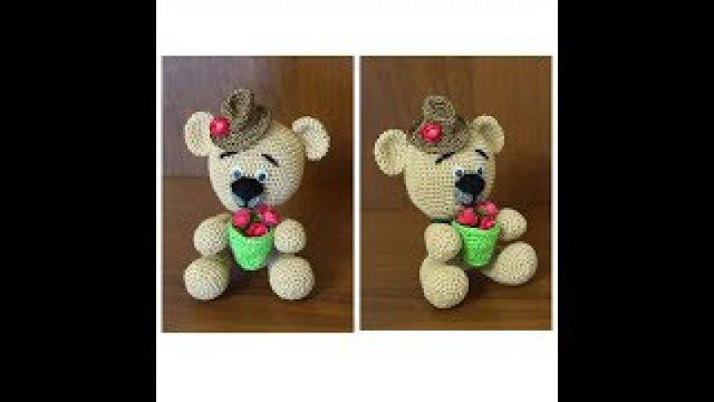 Как связать мишку. Медведь крючком. Мишка крючком. Вязание амигуруми. Ч. 2 (teddy bear. P. 2)