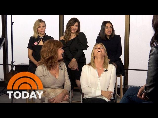 Mila Kunis, Kristen Bell, Kathryn Hahn We're Even Badder In 'A Bad Moms Christmas' | TODAY