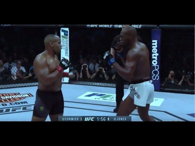 Jon Jones vs Daniel Cormier 2 - full fight (HD English Commentary) (UFC 214)