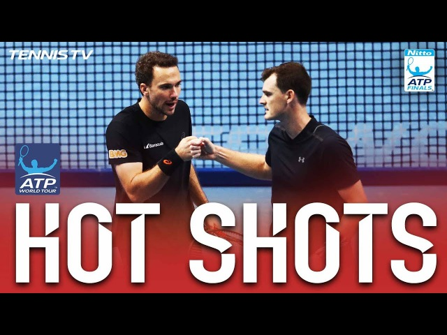 Hot Shot: Murray/Soares Overpower Dodig/Granollers Nitto ATP Finals 2017 Round Robin