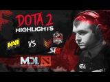 NAVI Dota2 Highlights vs M19, Effect, Empire  MDL Macau CIS Qualifier