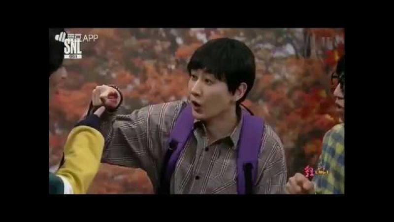 [SHORT CLIP] EUNHYUK PEPERO GAME | SUPER JUNIOR ON SNL KOREA 111117
