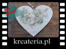 Serce z koronką i serwetką - kreateria.pl-KreaCraftShow009