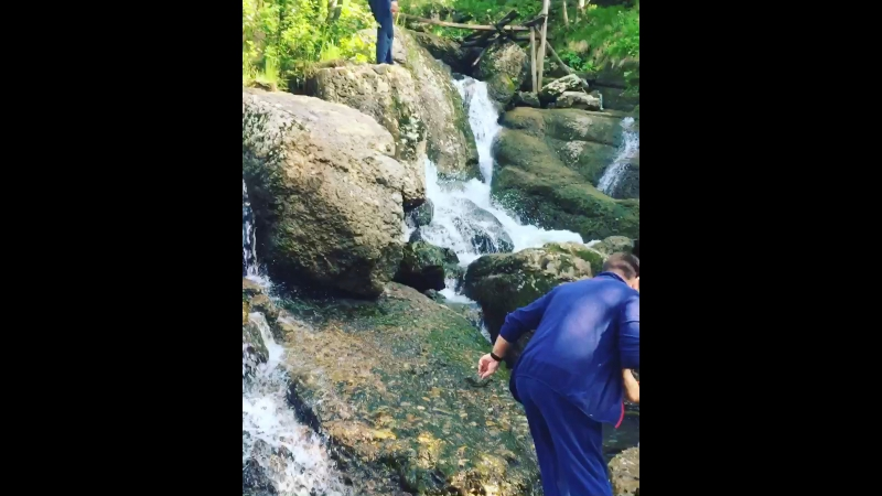 Кук караук водопад