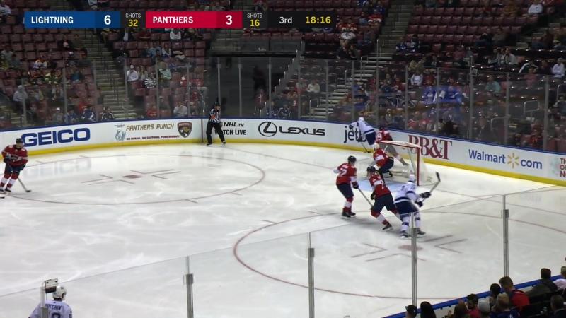 NHL 2017-18 / RS / Tampa Bay Lightning vs Florida Panthers / 2 часть
