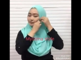 Готовые хиджабы со сборкой и жемчугом