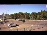 ДТП Сочи: Перекресток улиц Пластунских - 25 сентября