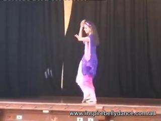 Belly Dancer Rachel - Andalusian at Sydney MEDFest 2009 4257