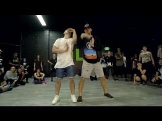 Matt Steffanina x Phillip 'Pacman' Chbeeb Choreography   Ed Sheeran - Shape of You