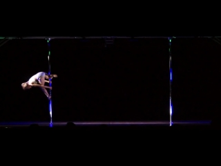 61-Yr Old Pole Dancer Greta Pontarelli - Midwest Pole Dance Competition 2012