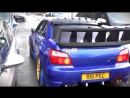 Subaru Impreza WRX Cosworth - Anti Lag FLAMES