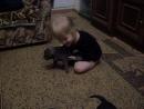 Наши детки подросли Ника и щенки