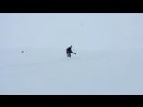 Andy Key snowboarding