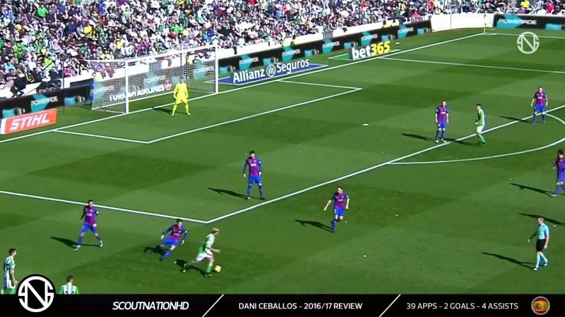 DANI CEBALLOS - Welcome to Real Madrid - Amazing Skills, Goals, Runs Assists - 2017 (HD)