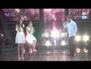 170923 Seulgi & Wendy (Red Velvet) with Kangta - Doll @ SBS Fantastic Duo 2 Rehearsal