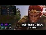 AdmiralBulldog Monkey King 7.01 Gameplay 33 Kills
