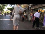 Amazing Arabian Ass Dance Walk In Grey Thru مدهش الرقص الحمار العربي في ثوب أسود 2016