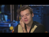 Harry Styles on the origin of One Direction [RUS SUB]